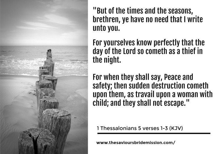 1 Thessalonians 5vs1to3