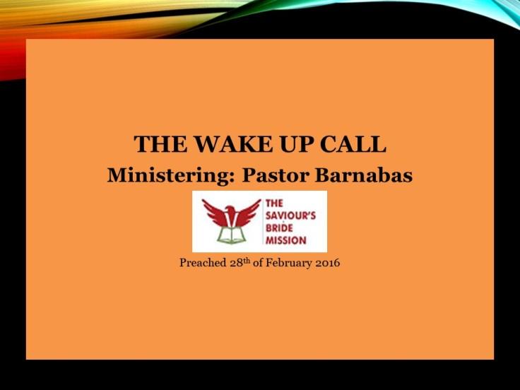 The Wakeup Call