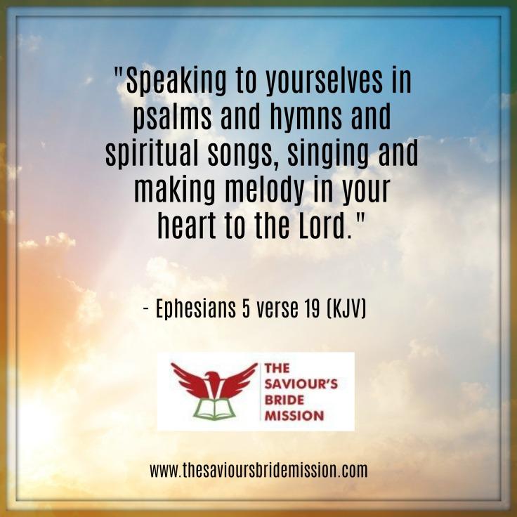 Ephesians 5vs19